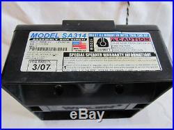 Whelen SA-314 100 Watt Siren PA Speaker Composite Model Part # 01-0883513-00