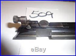 Winchester model 71 rifle bolt & bolt peep sight gun parts lot 509
