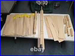 Wooden Model Ship, tools, parts, books, supplies Complete Hobby