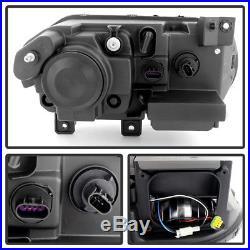 Xenon/HID Model Blk 2008-2014 Dodge Challenger Headlights Aftermarket Headlamps
