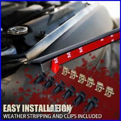 Xprite Front Black Gladiator Grille with Steel Mesh 2007-2018 Jeep Wrangler JK